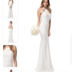 Wedding bridal dresses formal homecoming bridesmai
